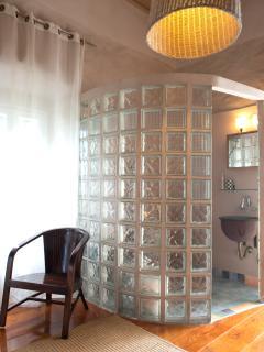 The bathroom on the 1st floor