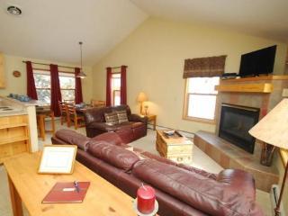 Snake River Village 26 - Walk to slopes, ground floor, washer/dryer, private garage!, Keystone