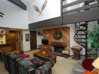 Wild Irishman 1029 - Sleeps 6, on shuttle route, outdoor heated pool and hot tub on site!, Keystone
