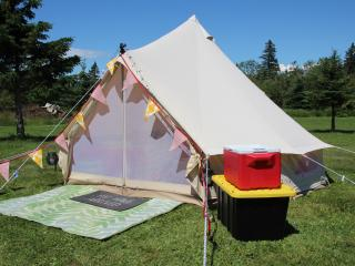 East Coast Glamping & Surfing at Shubie Campground, Dartmouth