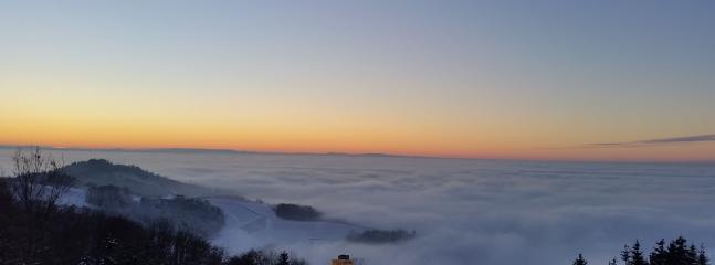 ...und über den Wolken ... auch Haus Panoramablick spektakulär 1