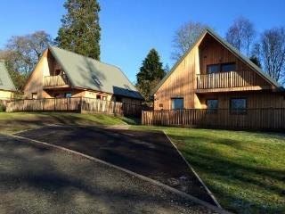 Beautiful lodges situated on Scotland's magnificent West Coast., New Galloway