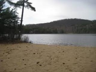 beaches in many spots around the ponds