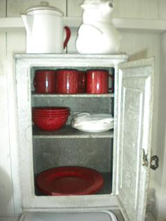 Enamel ware provided