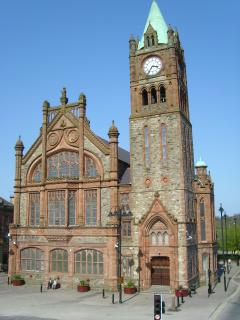 The Guildhall in Derry ~Londonderry