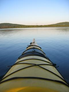 free access to our canoes, kayacs and rawboats to explore wild corners of the lake
