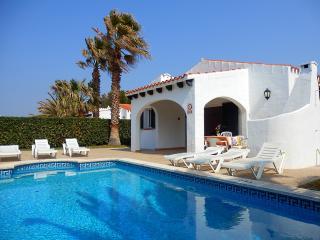 Roqueta |  Villa con piscina y barbacoa en Menorca
