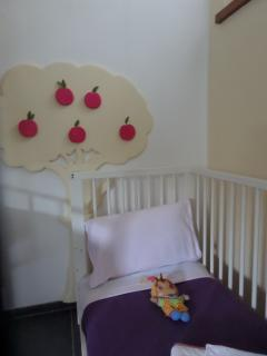 The cot for toddlers