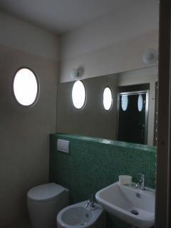 The bathroom in  The-Ladies-Retreat