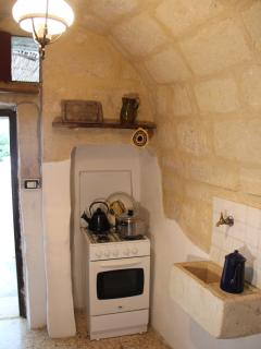 KItchen in the old trullo