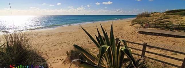 la spiaggia di Pescoluse