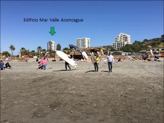 Departamento en Concón - 3 Dormitorios - 5 personas - Playa La Boca