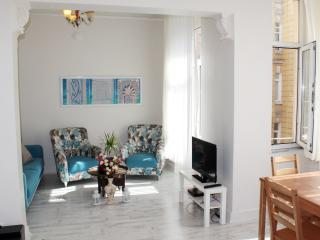 Greek Apartment Renovated in Taksim Area, Estambul