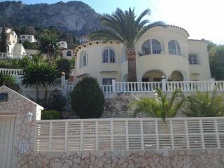 Costa Blanca -villa med panoramautsikt/privat pool, Calpe