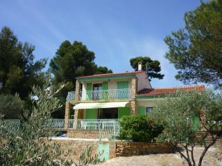 Villa 8 personnes, piscine privée, vue mer, Ceyreste