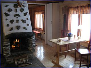 fireplace in the Small Lodge