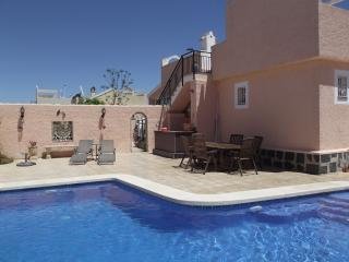 Villa Melrose, 2bed 2bath,Pool,Beach,Golf,4persons, Mazarron