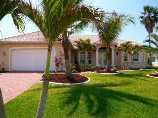 Luxury waterfront vacation villa in Cape Coral.