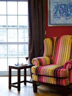 Elegant furnishings - lounge patio door