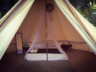 Tulum Beachfront Camping @ Playa Las Palmas