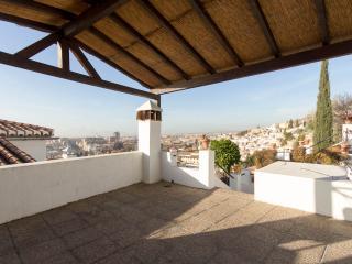 Apartamento Carmen Bib Al Asad con Jacuzzi y vista