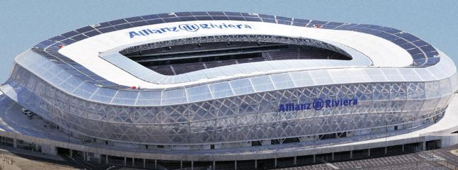 Only 20 mins from Allianz Riviera football stadium hosting some Euro Championships 2016