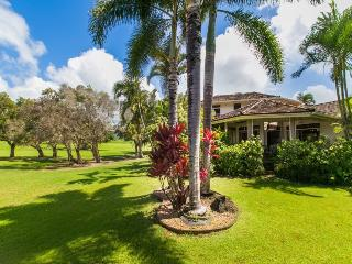 Hale Plumeria- 4bd/4bth house on the Kiahuna Golf Course in Poipu