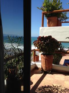 Second bedroom balcony view to the ocean
