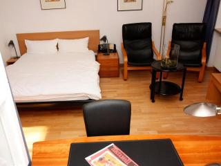 Vacation Apartment in Freiburg im Breisgau - 355 sqft, 1 bedroom, 1 living / bedroom, max. 4 people…
