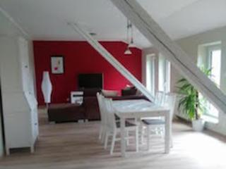 Vacation Apartment in Prüm - 1076 sqft, petting animals (horses), high-quality furnishings (# 9377), Orlenbach