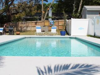 2300 SF 4 bedroom house with heated pool, Tarpon Springs