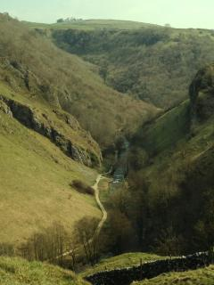 Dovedale - a short walk away