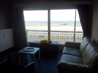 Apartment 1st floor-2 bedrooms-frontal view sea, Blankenberge