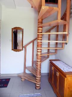 Stairs to Bedroom 2 and Bedroom 3