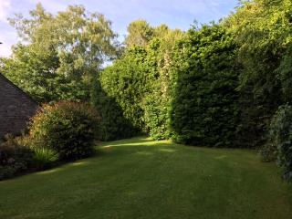 Landscaped gardens and woodland