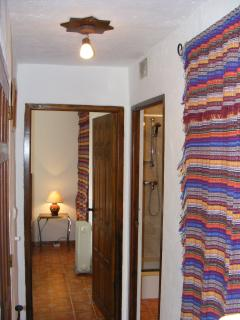 Casa Camelia Hallway, Leading to Both Bedrooms & Bathroom.