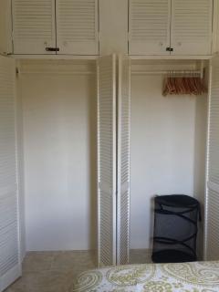Master Bedroom closet.