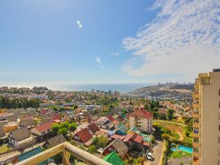 Great views, shared pool & 10-min drive to the city & beach!, Vina del Mar