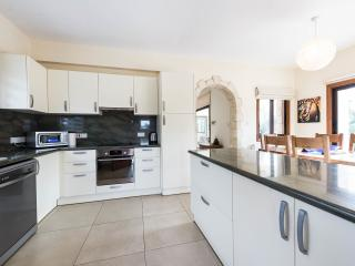 The Kitchen has a Fridge Freezer, Dishwasher, Microwave, Oven / Hob and lots of cupboard space.