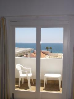 view from lounge with sun balcony