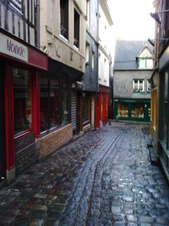 old street of Honfleur