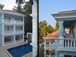 2 BHK Serviced Apartment - Pool & Nature View !, Siolim