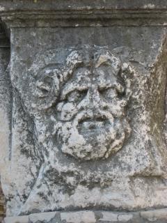 Roman temple remains