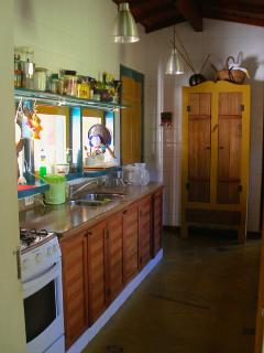 One of the two kitchens...