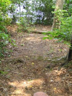 Path down to walk-in point