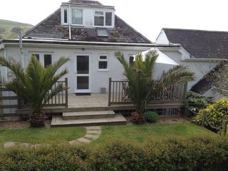 Own Entrance for the 4 bedroom Garden Duplex from the BBQ Deck off the garden area.