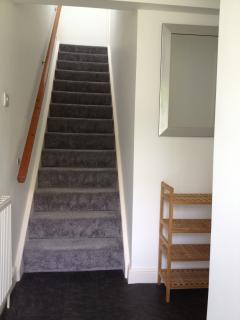 Upstairs to a double &, twin with en-suite, ideal for 2 families sharing, 1 upstairs & 1 downstairs!