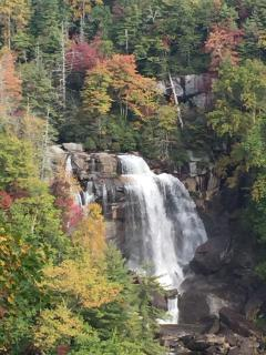 'White Water Falls', a few miles south of the property.  Largest waterfall east of the Mississippi.