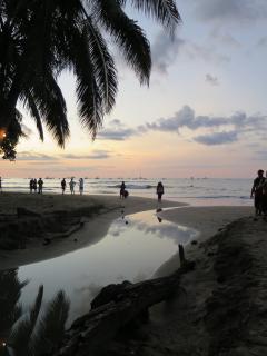 The beautiful beach