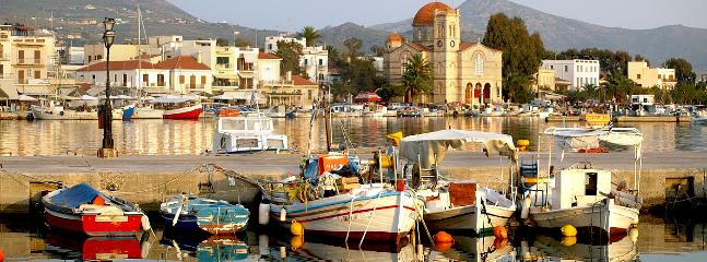 Aegina Town - 15km from Kavos Bay